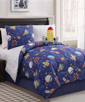 Out of This World Reversible Comforter Set