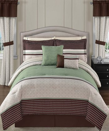 Green Seville Comforter Set