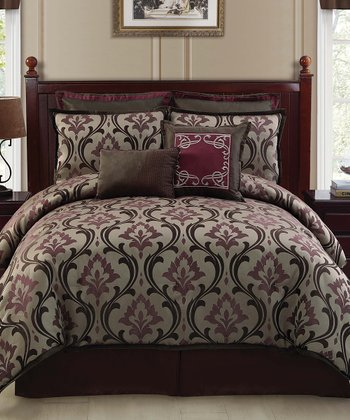 Taupe Winchester Comforter Set