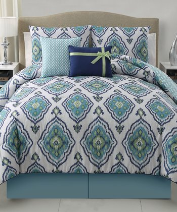 Blue Weston Comforter Set