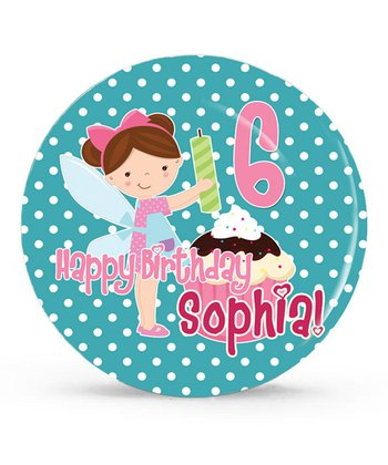 Birthday Girl Personalized Plate