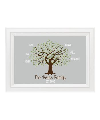 Family Willow Tree Personalized Print