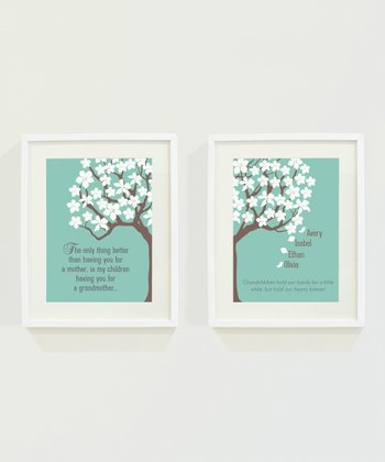 Grandmother Personalized Print Set