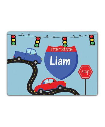 On The Road Again Double-Sided Personalized Place Mat