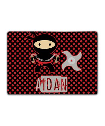 Ninja Double-Sided Personalized Place Mat