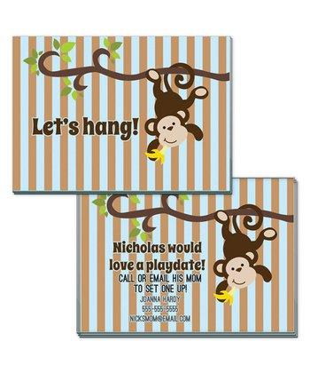 'Let's Hang' Playdate Calling Card - Set of 20