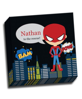 Super Spidey Personalized Canvas
