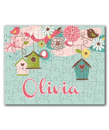 Beautiful Birdcage Personalized Puzzle