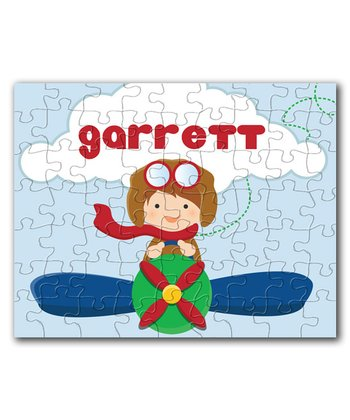 Little Aviator Personalized Puzzle