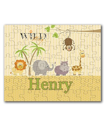 Wild About You Personalized Puzzle