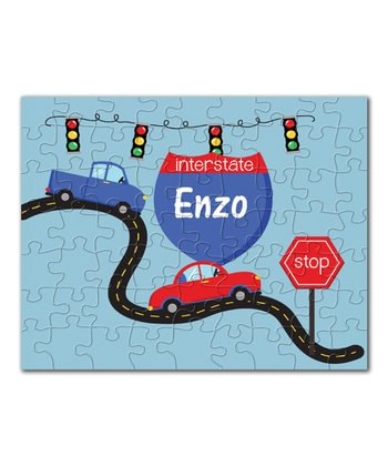 On The Road Again Personalized Puzzle