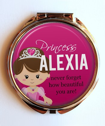 Princess Personalized Compact Mirror