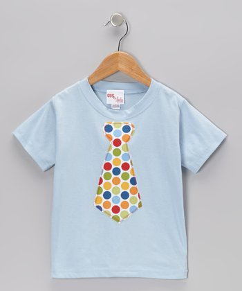 Blue Tie Tee - Infant, Toddler & Boys