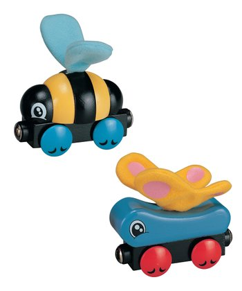 Butterfly & Bee Car Set