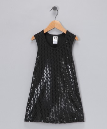 Black Sequin Dress - Toddler