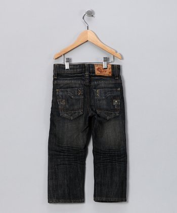 JB Original Vintage Brushed Spray Distressed Jeans - Toddler