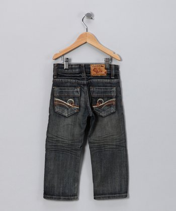 JB Original Vintage Dark Brushed Swirl Jeans - Toddler & Boys