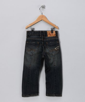 JB Original Vintage Dark Wash Rider Jeans - Toddler & Boys