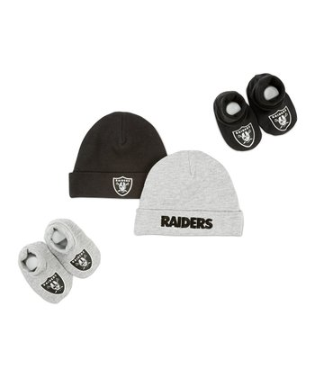 White Pittsburgh Steelers Beanie Set