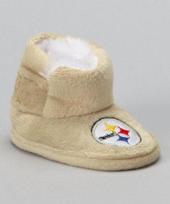 Tan Pittsburgh Steelers Boot - Infant