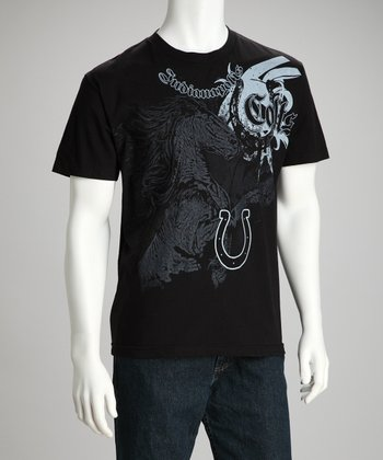 Black Indianapolis Colts Tee - Men