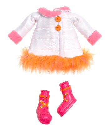 Winter Coat Lalaloopsy Doll Outfit Set