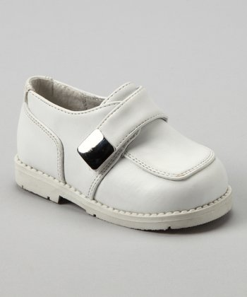 White Monk Strap Shoe