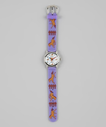 Purple Playful Pony Watch