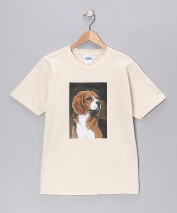 Natural Beagle Tee - Kids