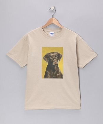 Sand Chocolate Lab Tee - Kids