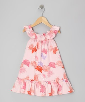 Pink Peony Organic Swing Dress - Infant & Toddler