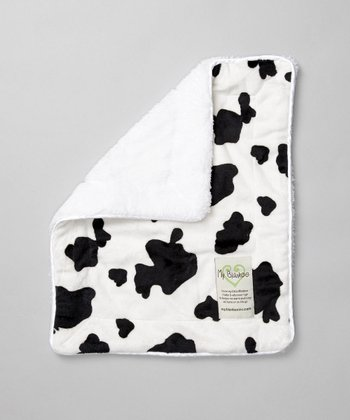 White Cow Security Blanket