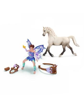 Limeya & Arabian Mare Figurine Set