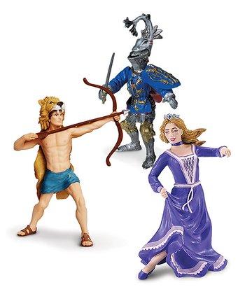 Hercules, Princess Juliet & Robert De Mamines Figurine Set