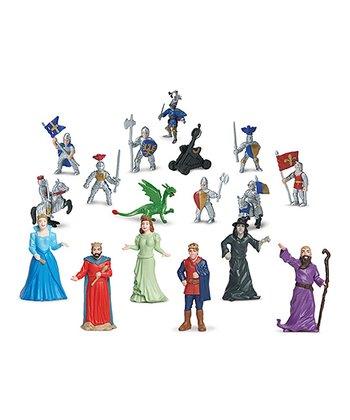 Days of Old & Dragon Knights Toob Figurine Set