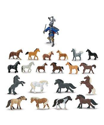 Ponies & Horses Toob Figurine Set