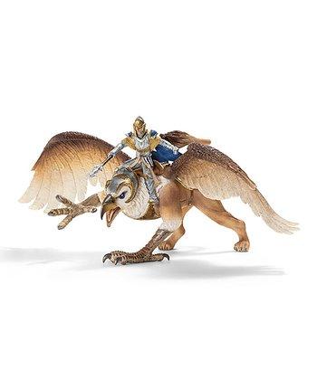 Griffin Rider Figurine Set