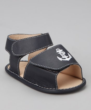 Navy Anchor Sandal
