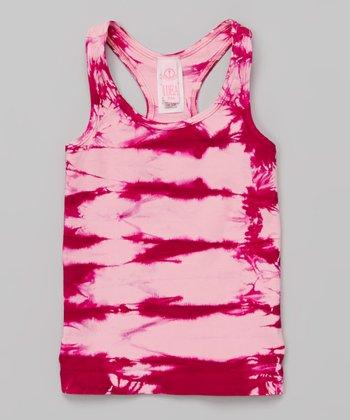 Pinky Pink Tie-Dye Tank