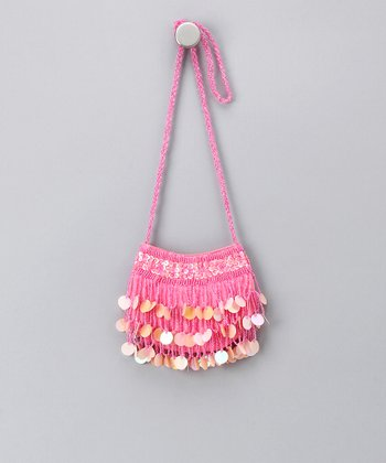 Pink Sparkle Shoulder Bag
