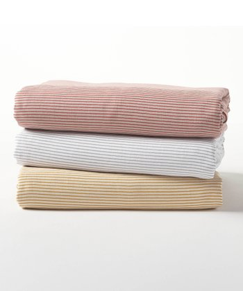 Mini Stripe Fitted Sheet