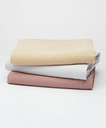 Mini Stripe Flat Sheet