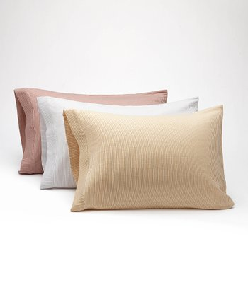 Mini Stripe Pillowcase Set