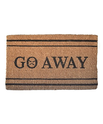 'Go Away' Doormat