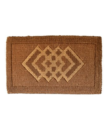 Cross Diamond Doormat