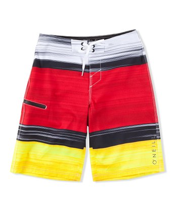 Red Hyperfreak Bonus Boardshorts