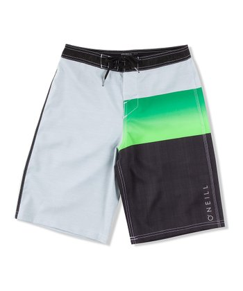 Green Jordy Freak Boardshorts