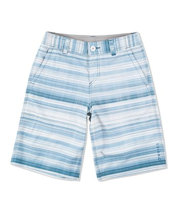 Blue Occupy Boardshorts