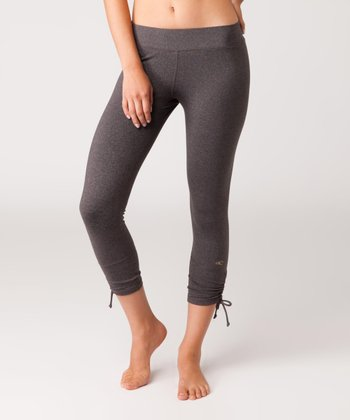 Charcoal Freestyle Capri Leggings