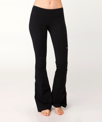 Black Steady Pants